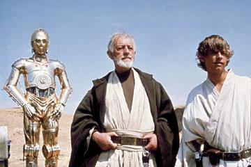 C3PO, Obi-Wan, & Luke